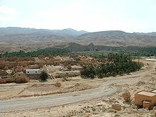 Развалины старой части города Тамерза