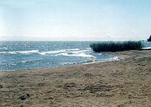 Западный берег озера