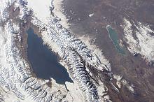 Спутниковый снимок NASA