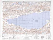 Лист NK 43-6,из набора карт Западной Сибири Картографической военной службы США. Серия 502. 1955. Масштаб 1:250 000