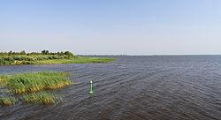 Вид на озеро летом 2010 года