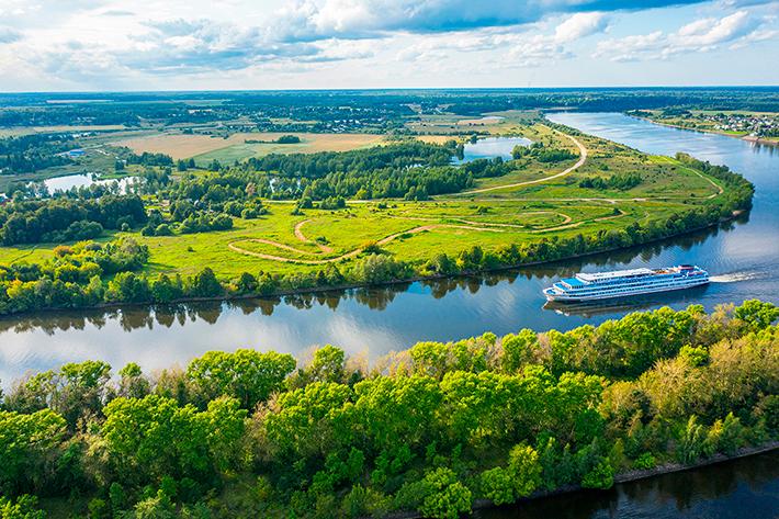 Топ-20 крупнейших рек России