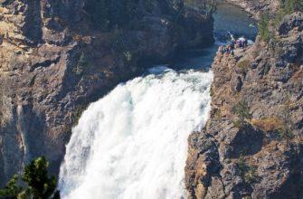 Йеллоустонские водопады