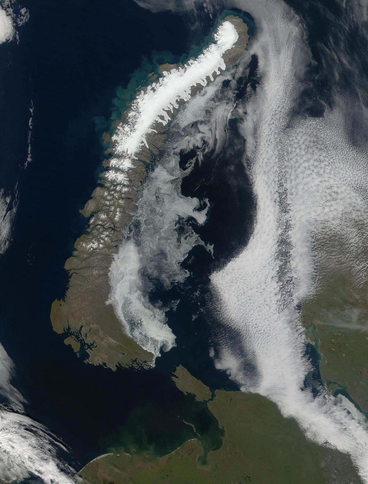 Ледяная шапка Северного острова
