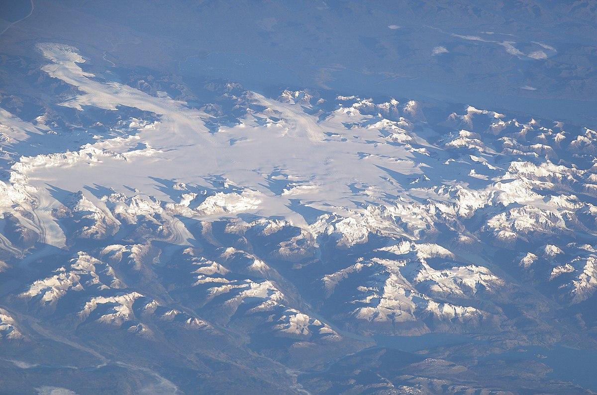 Северное Патагонское ледниковое плато