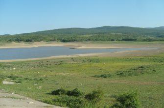 Старокрымское водохранилище (Крым)