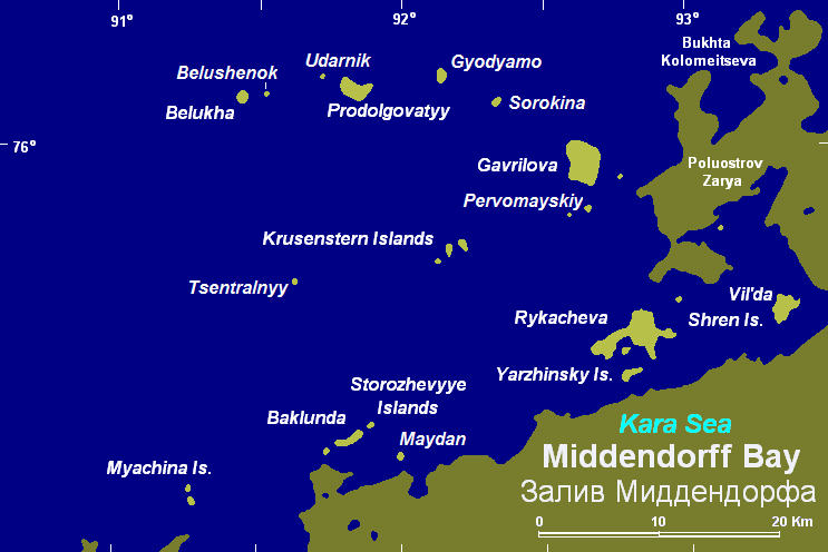Залив Миддендорфа