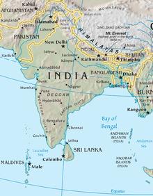 Река Инд берёт начало в Гималаях на Тибете (Китай), протекает на северо-востоке Кашмира (Индия) и по территории Пакистана.