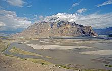 Река Инд около Скарду, Пакистан