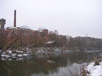 Шерстяная фабрика (основана в 1883) на Клязьме в Ногинске