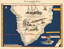 На карте Вальдземюллера (1513) истоки Нила показаны в Лунных горах
