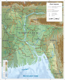 Map of Bangladesh-ru.svg